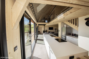 Gîte Sancy Nature - Installation de 2 filets d'habitation pour un espace détente