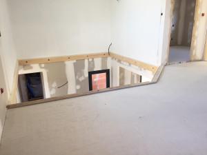 Holzstruktur für ein Wohnungsnetz