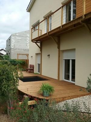 Intégrez un filet d'habitation à votre terrasse
