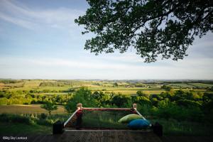 Big Sky Lookout - Réalisation sur-mesure d'un filet d'habitation