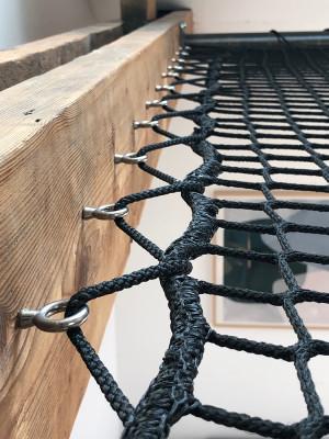 Holzstruktur mit Stollen
