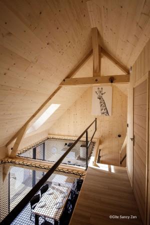 Gîte Sancy Nature – Espace détente en filets d'habitation sur-mesure