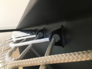 Stahlstruktur für Gehäusenetz mit geschweißten Hebering