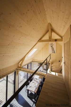 Housing net wooden house