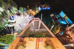 Nature Bleue à la Réunion- Filet d'habitation pour terrasse