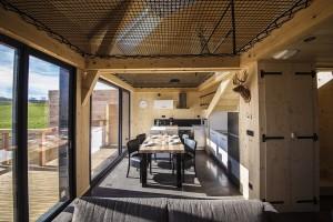 Une nouvelle pièce à vivre entièrement ouverte sur le reste de la maison