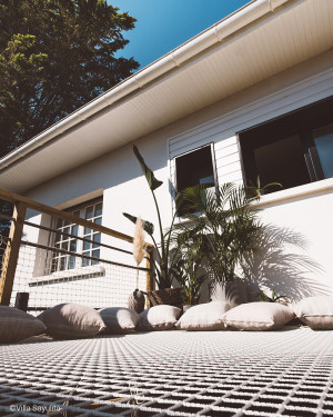 Villa Sayulita à Seignosse - Filet d'habitation en extérieur