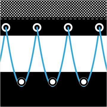 Linien Schnüre