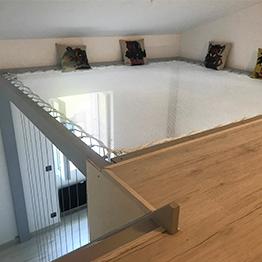 Optimisation d'une chambre d'ado avec un filet d'habitation- loftnets
