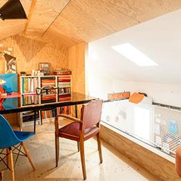 Filet de catamaran suspendu - réalisé par EMA Architecte Bordeaux