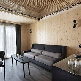 Filet d'habitation noir - Hotel Saint Alban La Clusaz