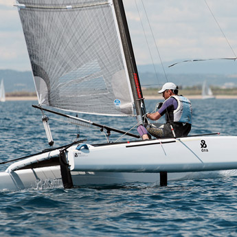 Sailing : Nets and trampolines for multihulls and sport